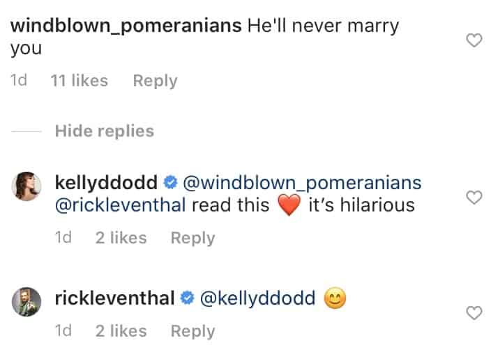 RHOC Kelly Dodd Reacts to Rick Leventhal Marrying Her