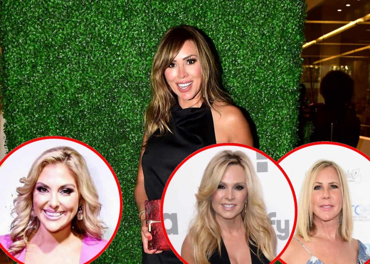 """RHOC Kelly Dodd Slams Gina Kirschenheiter as a """"Follower"""" and Explains Why Tamra Judge Plays Both Sides, Plus She Sounds Off on Vicki -- See the Scathing Tweets!"""
