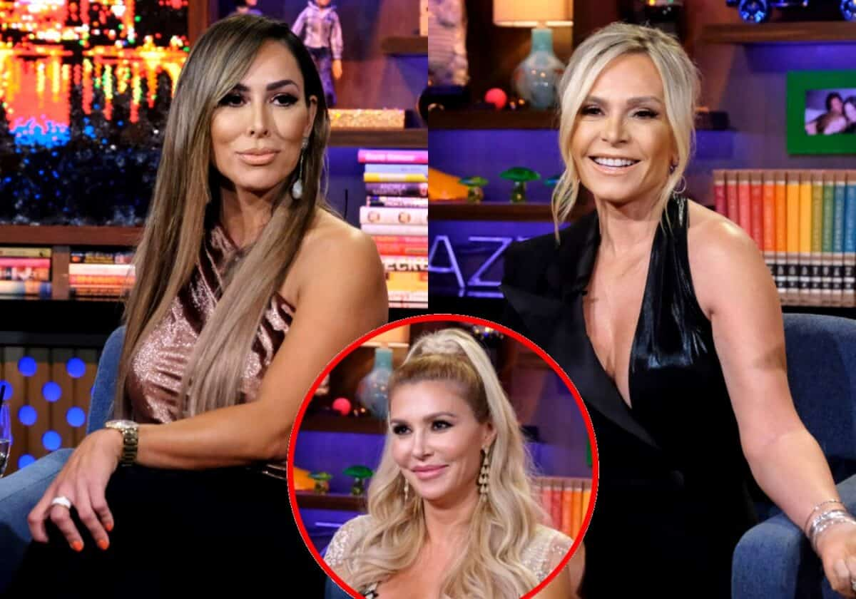 RHOC's Kelly Dodd Slams Tamra Judge as an 'Uneducated, Stupid A**' and Addresses Her Comment About Vicki Gunvalson's Funeral, Plus Brandi Glanville Gives Update on Friendship with Kyle and Kim