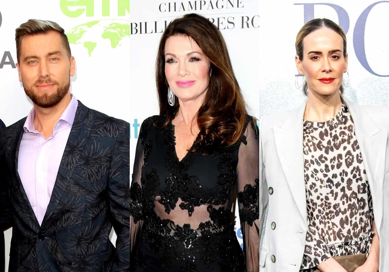 Lance Bass Believes Lisa Vanderpump 'Probably' Snubbed Sarah Paulson, Explains Why the Ex-RHOBH Star May Not Have Been 'Very Nice' to the Actress