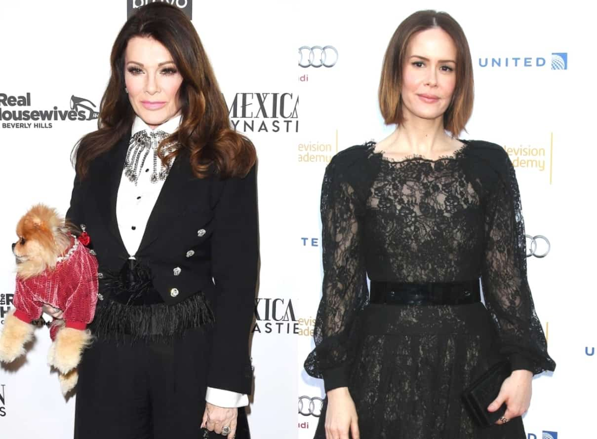 Former RHOBH Star Lisa Vanderpump Accuses Sarah Paulson of Attempting to 'Sully' Her Reputation