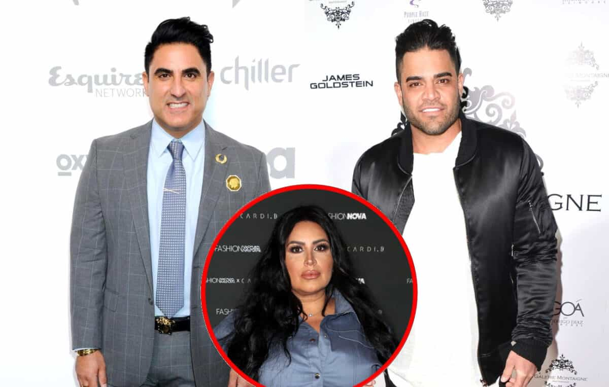 Shahs of Sunset's Reza Farahan Files Cease and Desist Order Against Mike Shouhed, He Reacts on Instagram as MJ Weighs In