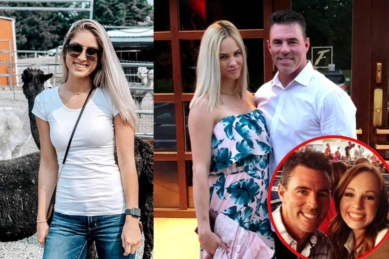 Meghan King Edmonds' Nanny Carly Denies Cheating Claims Again as Jim Edmonds' Daughter Hayley Slams the RHOC Star
