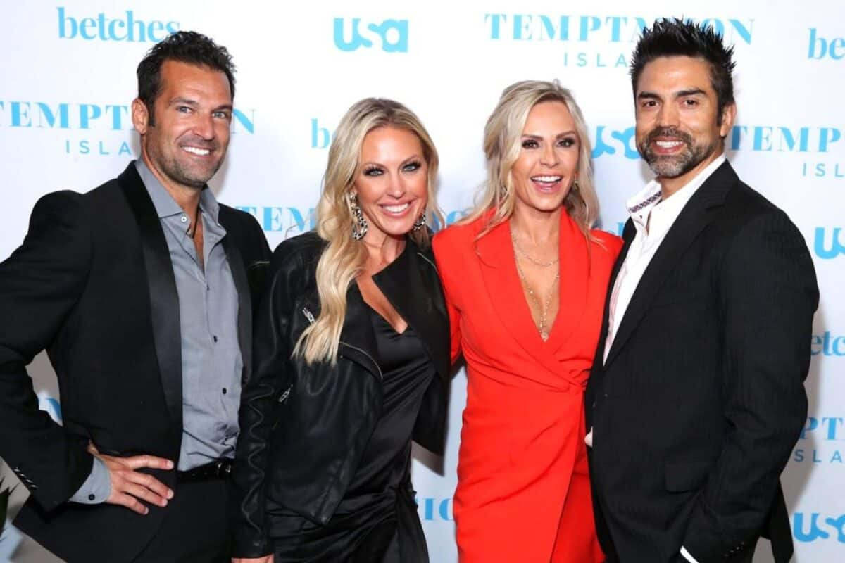 RHOC's Tamra Judge Responds After Braunwyn Says She and Eddie Have Threesomes, Is She Denying It? Plus Braunwyn Insists Tamra Told Her This on Camera