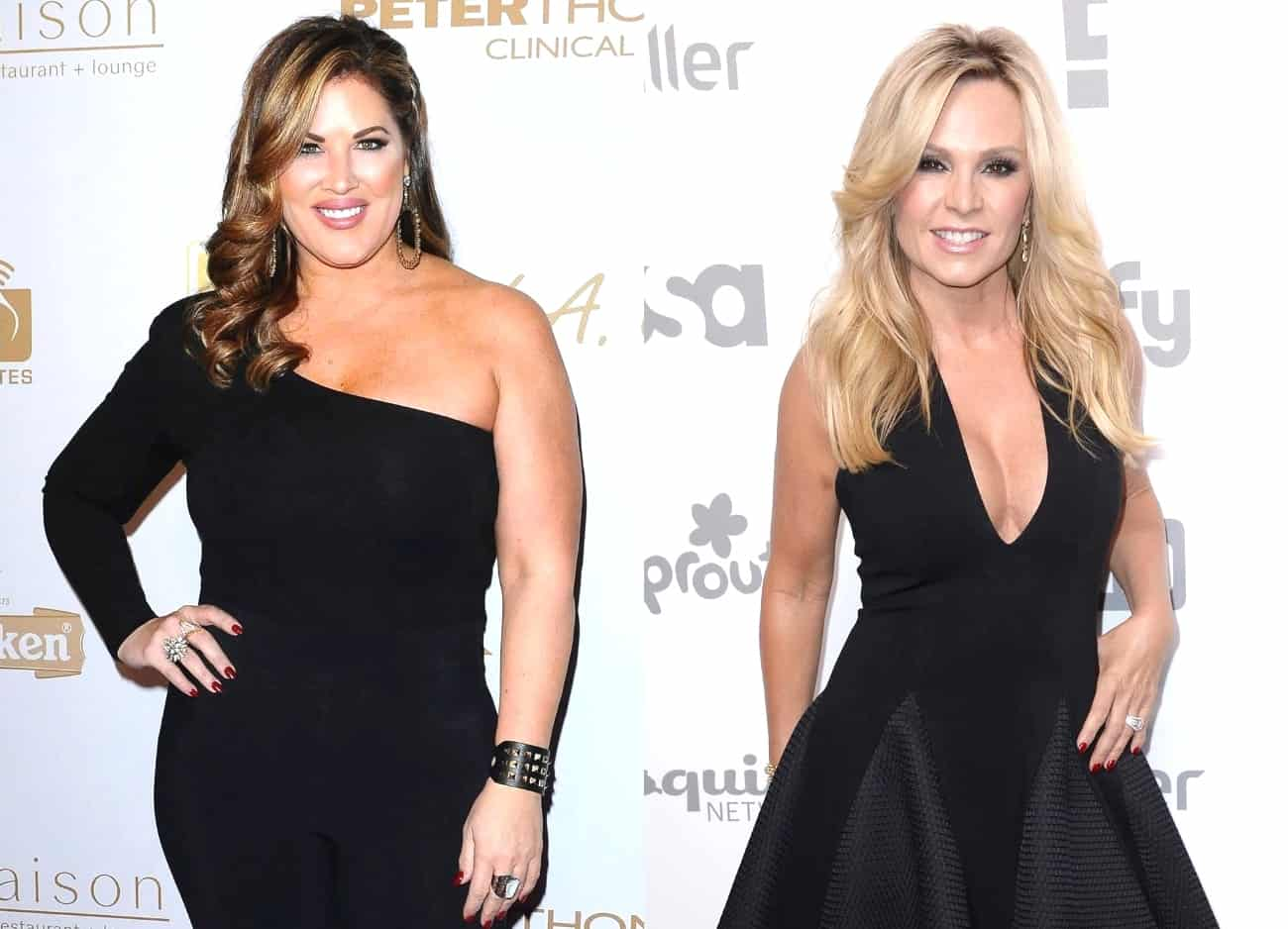 RHOC's Emily Simpson Says Tamra Judge Blocked Her on Twitter, Plus She Reposts Fan's Comment Slamming Tamra and Talks Getting Hip Replacement Surgery