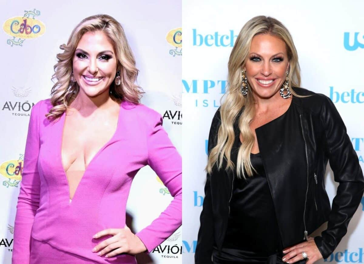 "RHOC's Gina Kirschenheiter Disses Braunwyn Windham-Burke for ""Trying Too Hard,"" Says She's ""Out of Her Mind"""