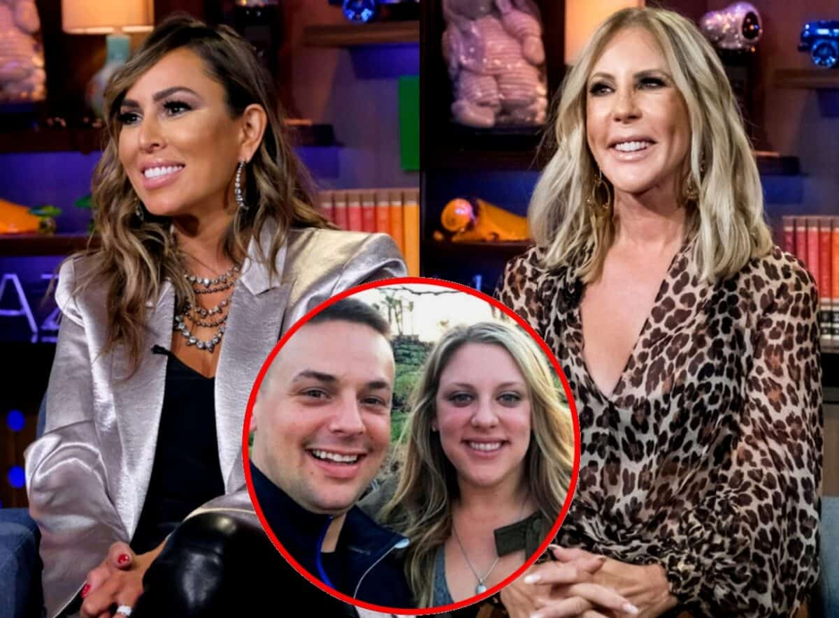 "Vicki Gunvalson's Son-in-Law Ryan Reacts After Kelly Dodd Shades Her as ""Grandma"" With RHOC Clip, Plus She Accuses Vicki of Buying Her Own Engagement Ring"