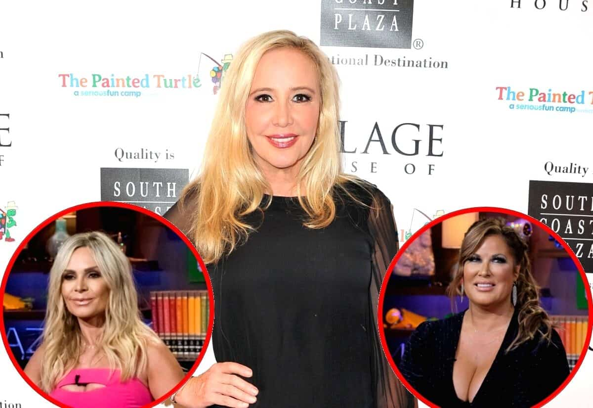 EXCLUSIVE: RHOC's Shannon Beador Teases Drama With Tamra Judge, Talks Feud With Emily Simpson and Where They Stand Today
