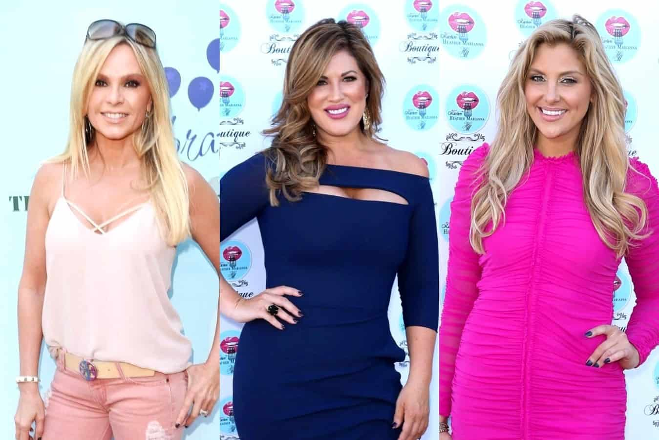 RHOC's Tamra Judge Accuses Emily Simpson of Trying to Get Dirt on Gina Kirschenheiter, Slams Her as 'Manipulative' and Says She Plays 'Victim'