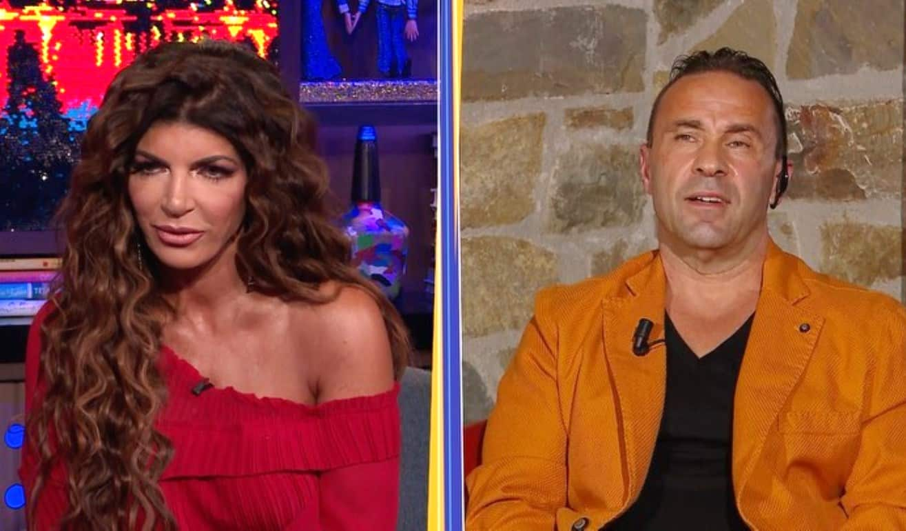 VIDEO: Joe Giudice Accuses Teresa of Cheating on Him While He Was in Prison, as Teresa Claims He Was Unfaithful in RHONJ Interview Special - Joe and Teresa Unlocked