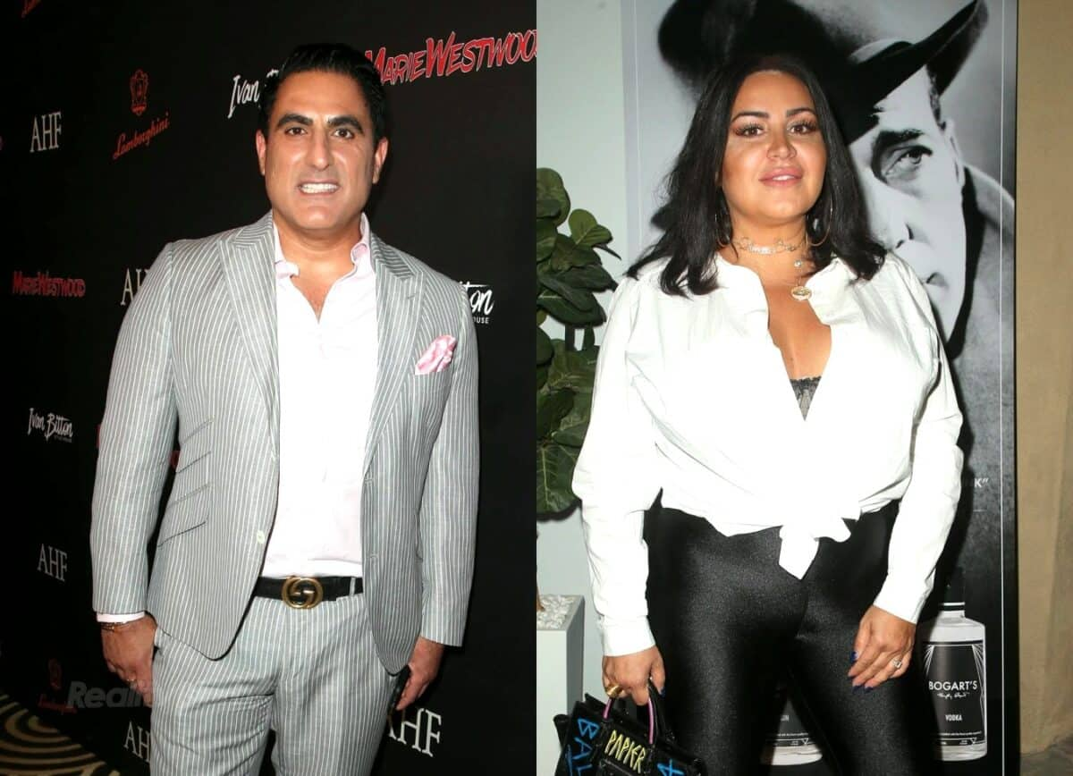 Did Shahs of Sunset's Reza Farahan Diss Mercedes 'MJ' Javid