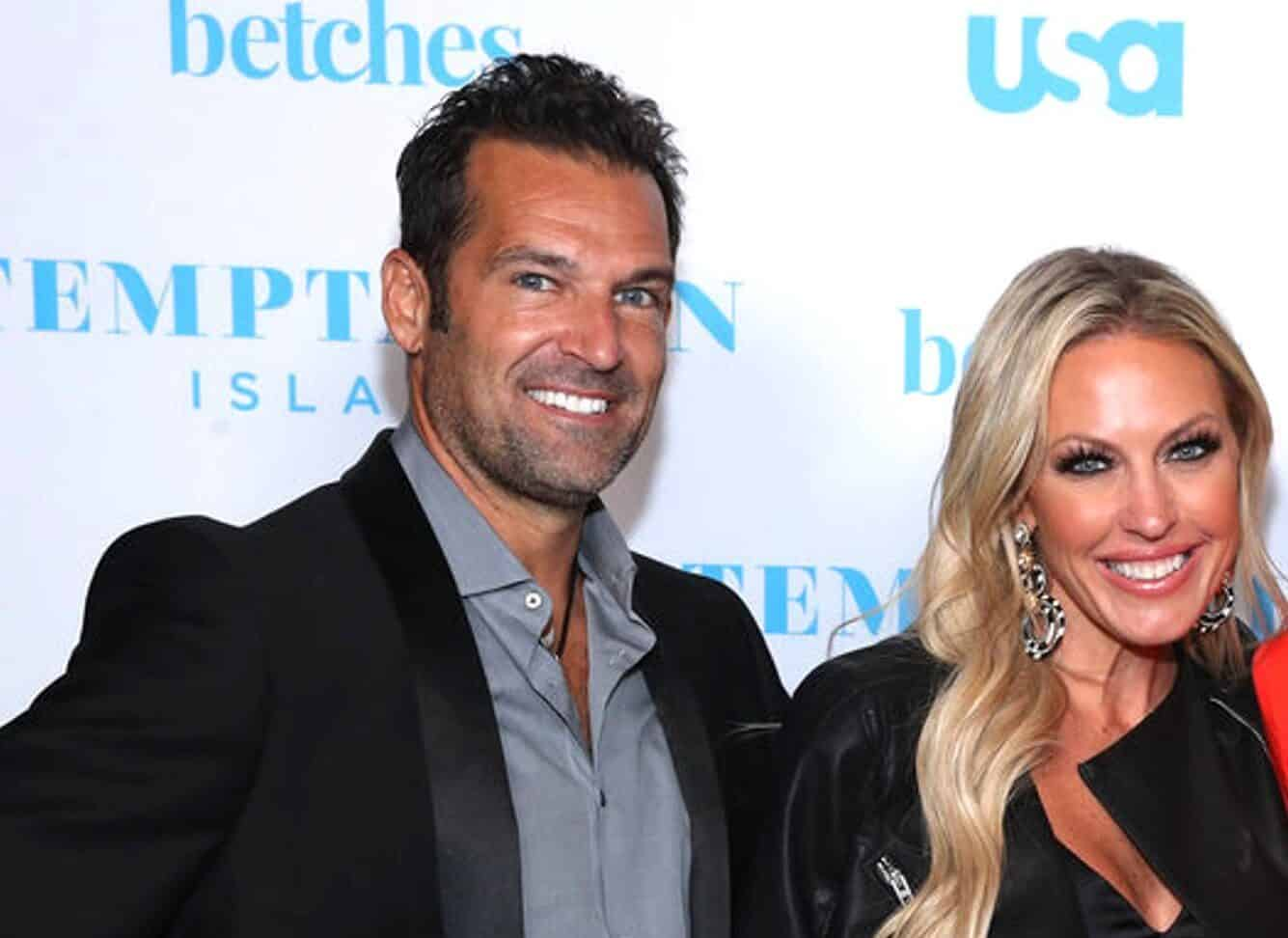 PHOTO: RHOC Star Sean Burke Steps Out With New Girlfriend as They're Spotted Making Out, Plus Wife Braunwyn Says She's Done After Catching Woman In His Bed