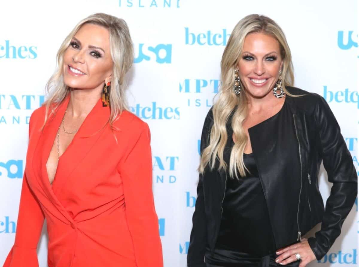 RHOC's Tamra Judge Calls Out Braunwyn Windham-Burke for 'Jumping' on Her During Steamy Make-Out and Claims She 'Passing Out' as Braunwyn Tells Her Side of the Story