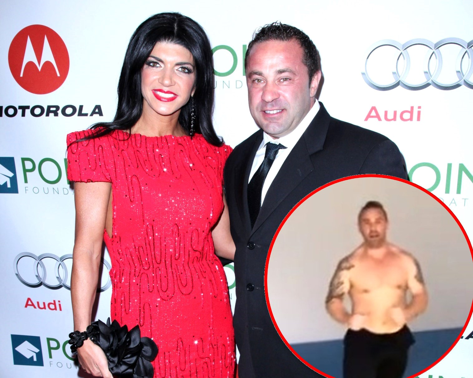 RHONJ's Teresa Giudice Denies Cheating on Joe After Revealing 'Hookup' With Man, Plus See Joe's Shirtless Fit Body as He Shows Off His MMA Moves