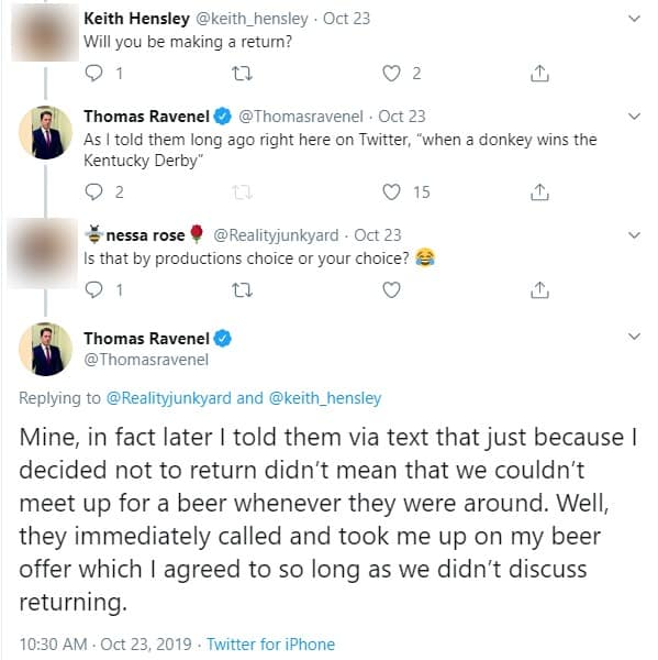 Thomas Ravenel Claims He Chose Not to Return to Southern Charm