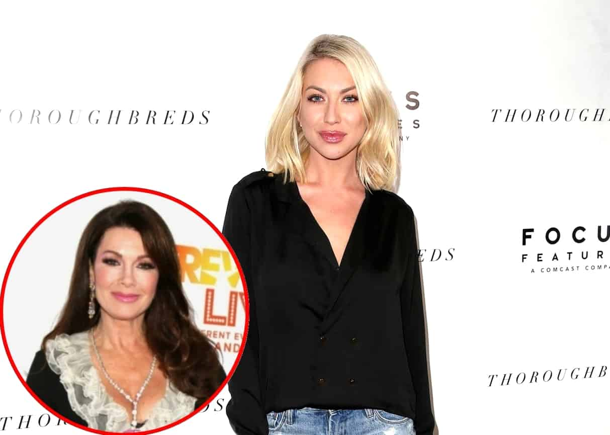 "Stassi Schroeder Admits Some Vanderpump Rules Costars Pretend to Work at SUR, Says Lisa Vanderpump Told Media About RHOBH Exit Before Bravo Plus Why She's ""Insecure"" About Wedding"