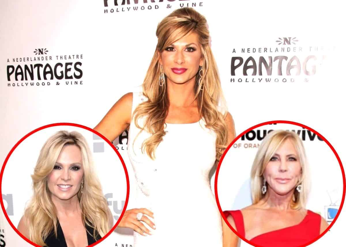 RHOC's Alexis Bellino Accuses Tamra Judge of Selling Her Soul for a Paycheck, Talks Falling Out With Vicki Gunvalson, Plus She Shares Real Story About Being Asked to Return