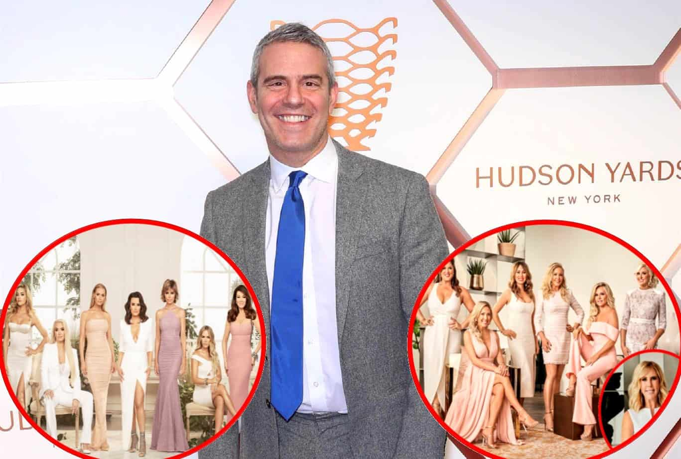 "Andy Cohen Reveals Some 'Friendships Have Ended' on RHOBH's New Season and Dishes on RHOC Reunion ""Meltdowns"""