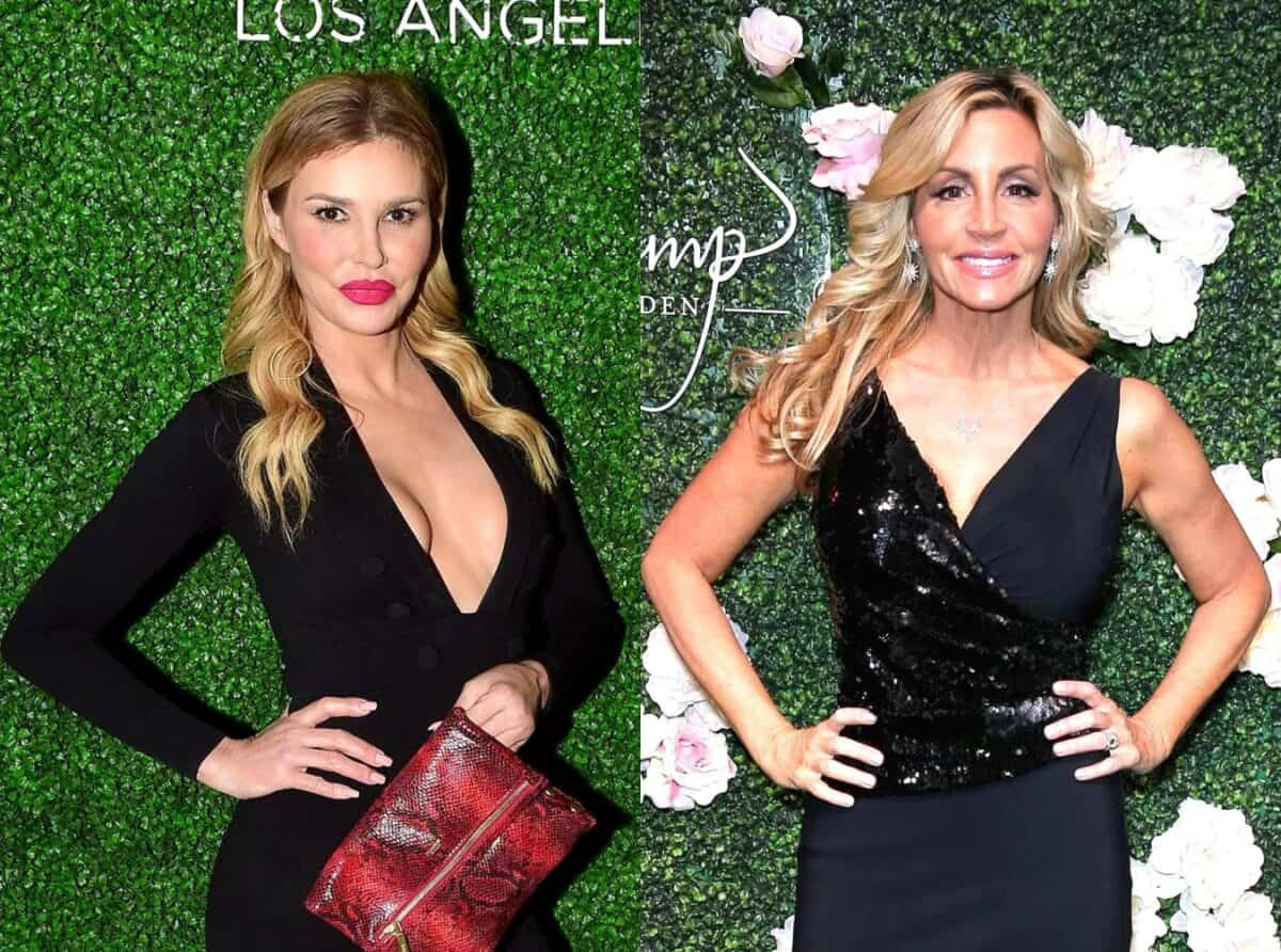 "RHOBH's Brandi Glanville and Camille Grammer Engage in Twitter Feud After Brandi Slams Camille as a ""Coward"" Who's Afraid of Her, See How Camille Responded"