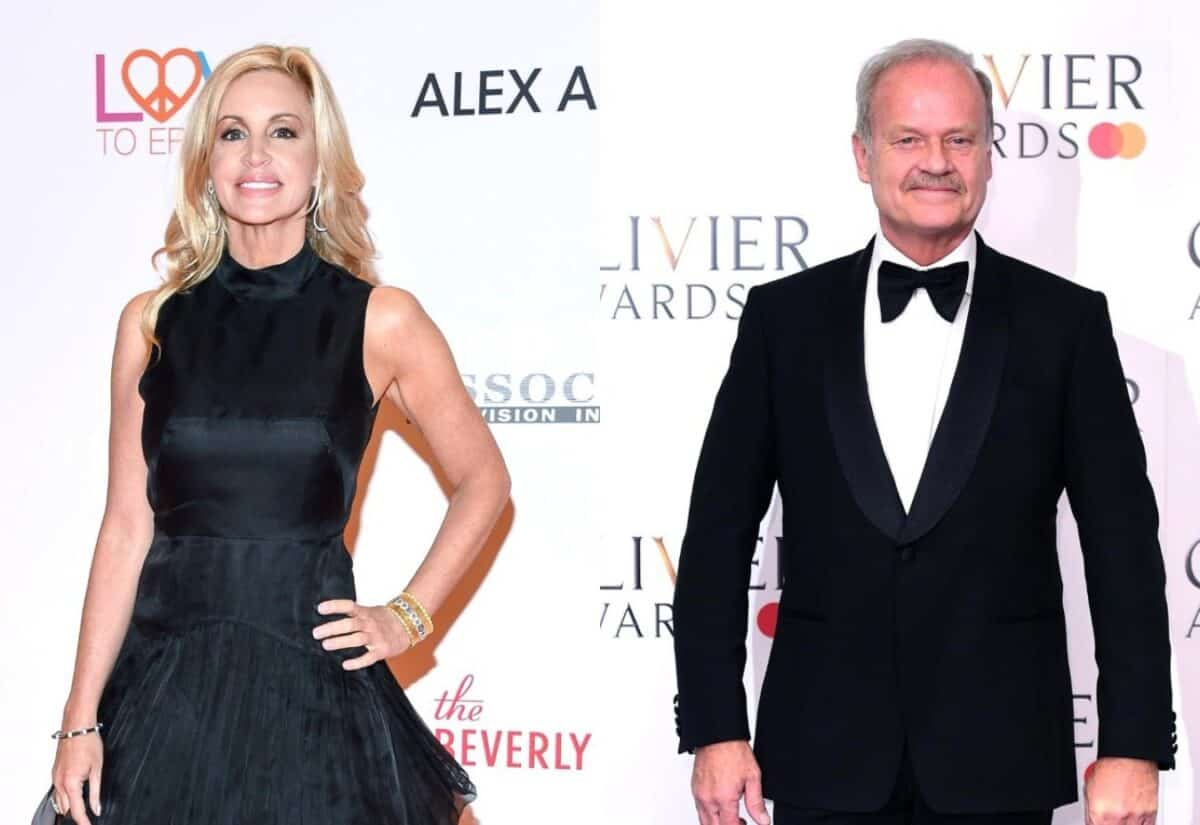 "RHOBH's Camille Grammer Blasted By Ex-Husband Kelsey Grammer for ""Pathetic"" Antics and Accused of Blowing Up on Him on Day of His Mother's Funeral"