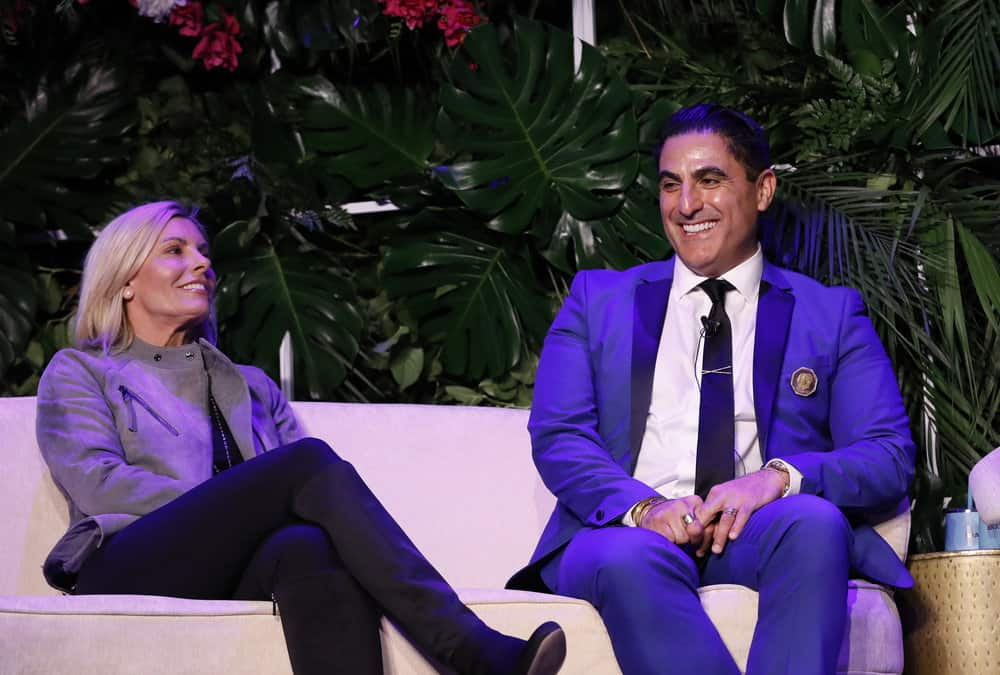 Captain Sandy Yawn and Reza Farahan Attend BravoCon
