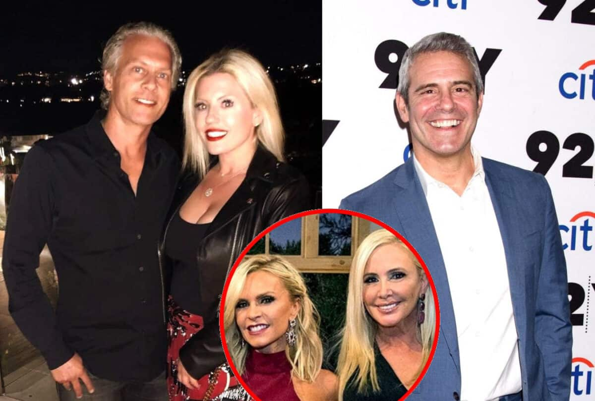 RHOC Star David Beador's Girlfriend Lesley Cook Claps Back at Andy Cohen After He Labels Her 'Jackhole of the Day' on WWHL for Sharing Racy Photos of Them in Italy, Plus Tamra Judge Reacts to the 'Traumatic' Images