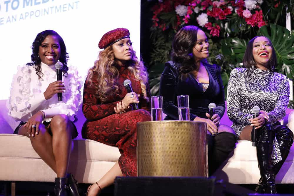 Dr. Simone Whitmore Mariah Huq Dr. Heavenly Kimes and Quad Webb Attend BravoCon