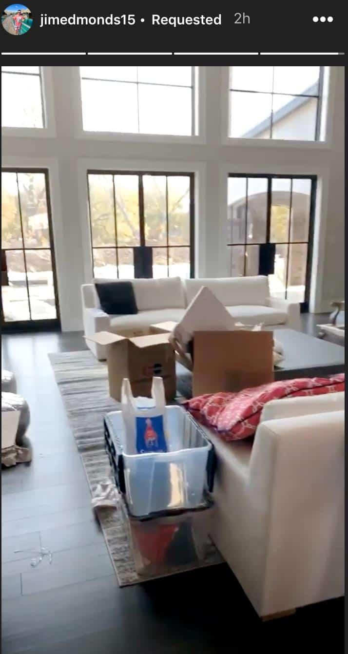 RHOC Jim Edmonds New Home Living Room