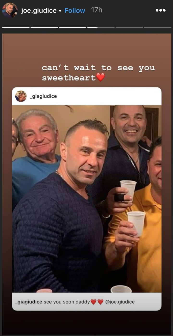 RHONJ Joe Giudice Prepares to Reunite With Daughter Gia