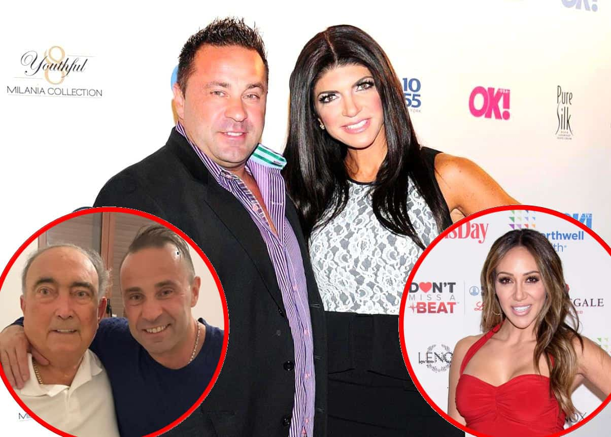 PHOTOS: RHONJ's Joe Giudice Joins Instagram, Shares Pics of Himself With Teresa Giudice's Dad as Melissa Gorga Admits Joe and Teresa Will Likely Divorce