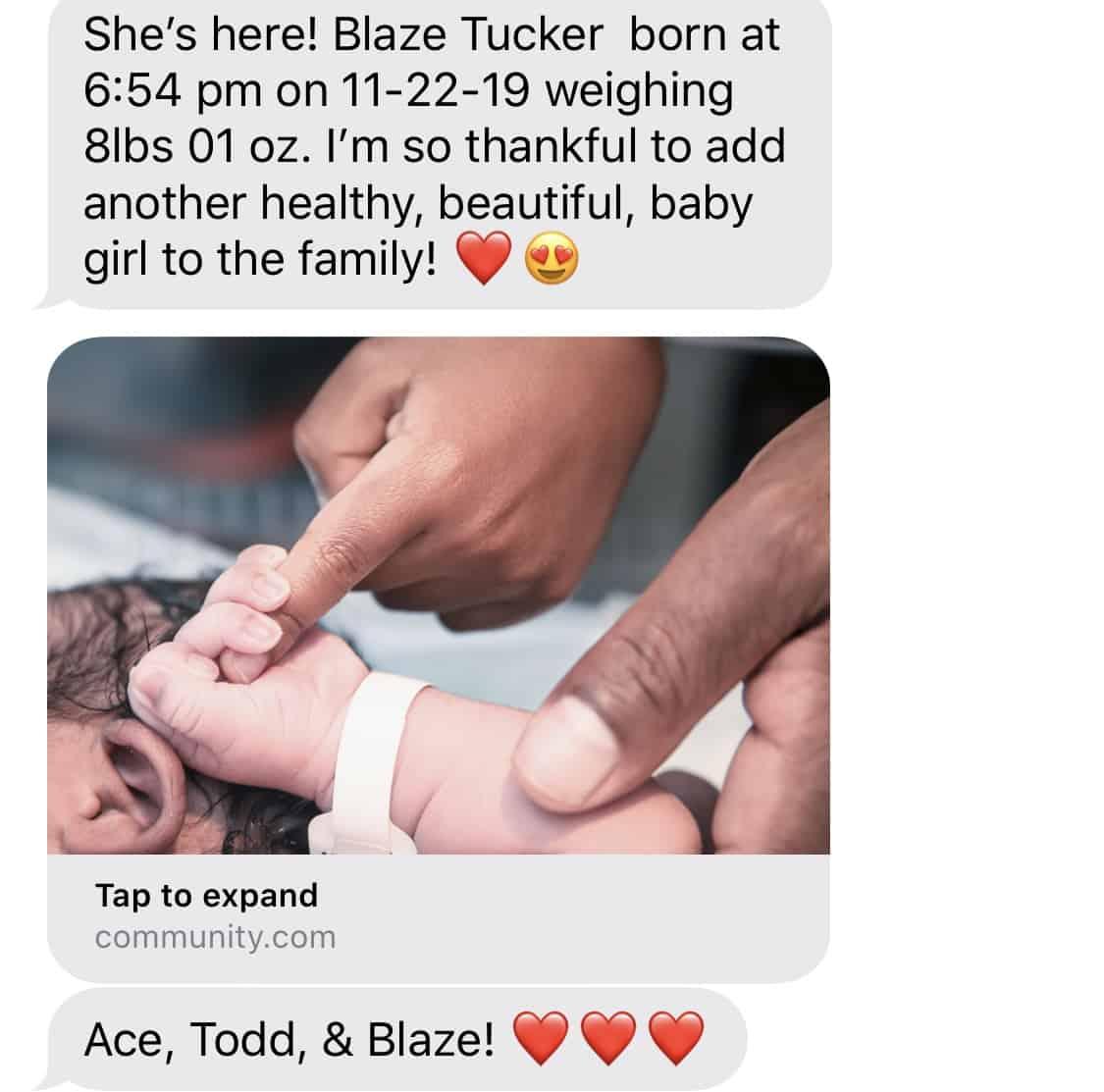 RHOA Kandi Burruss Welcomes Third Child and Shares Photo