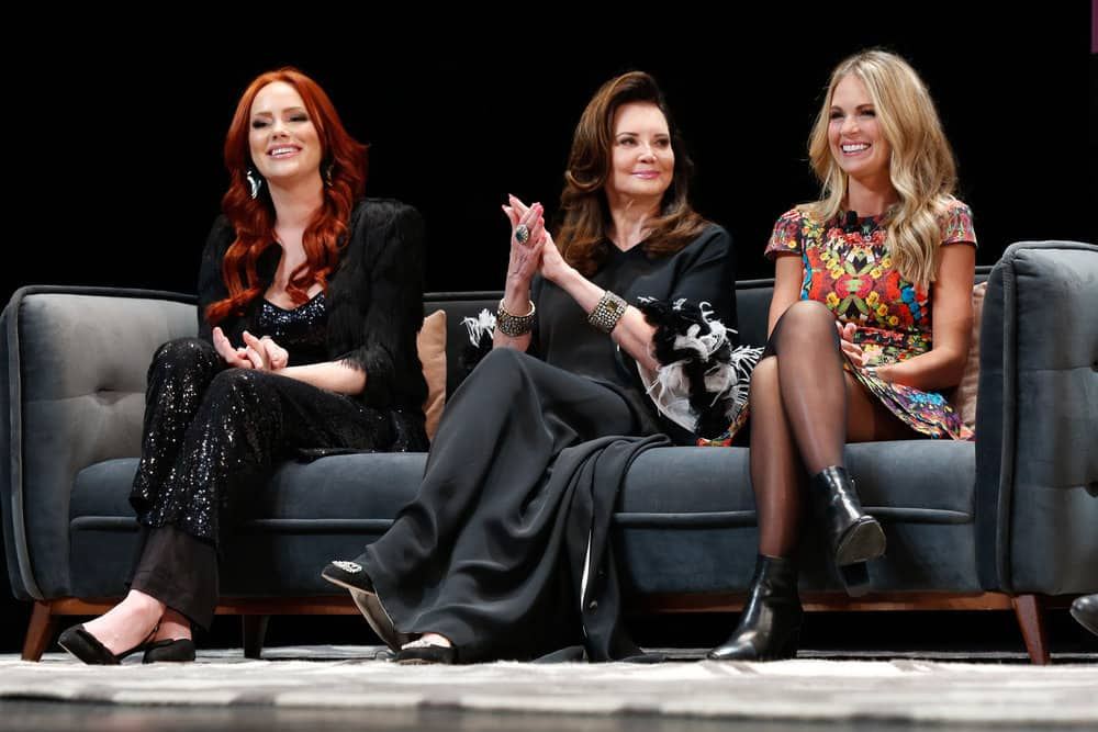 Kathryn Dennis Patricia Altschul Cameran Eubanks at the Mind Your Manors Panel