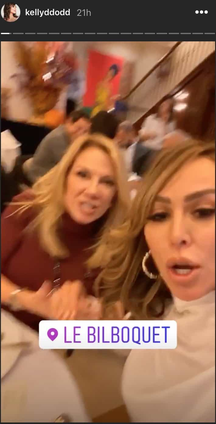 RHOC Kelly Dodd Has Lunch With Ramona Singer After Engagement