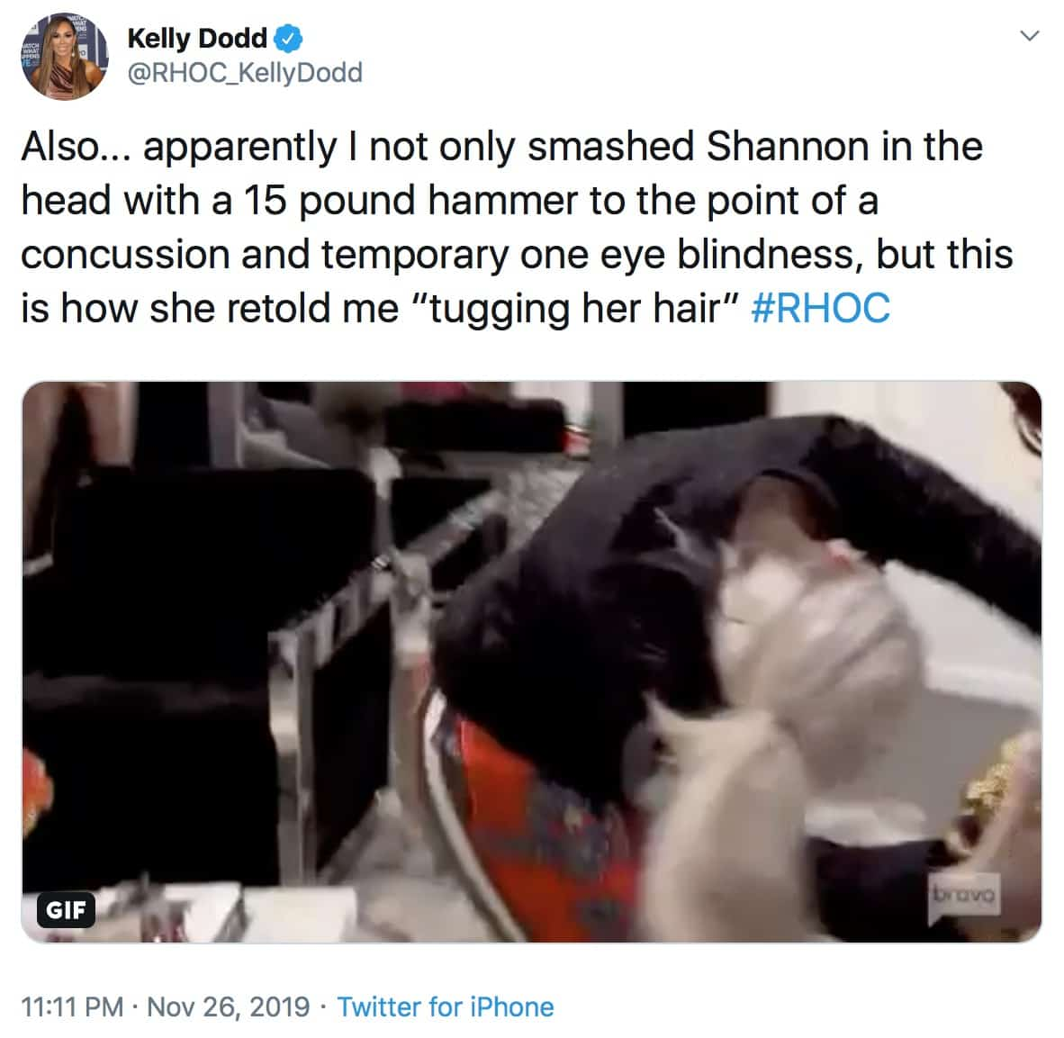 RHOC Kelly Dodd Pokes Fun at Shannon Beador's Assault Claims Against Her