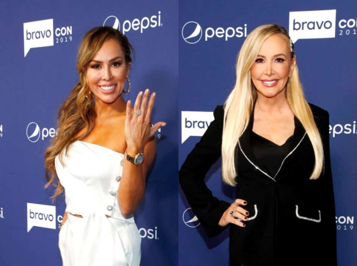 Kelly Dodd Pokes Fun at Shannon Beador's Claims of Getting Physical, Slams RHOC Cast for 'Personal Attacks' and Defends Comment About Shannon's Hair