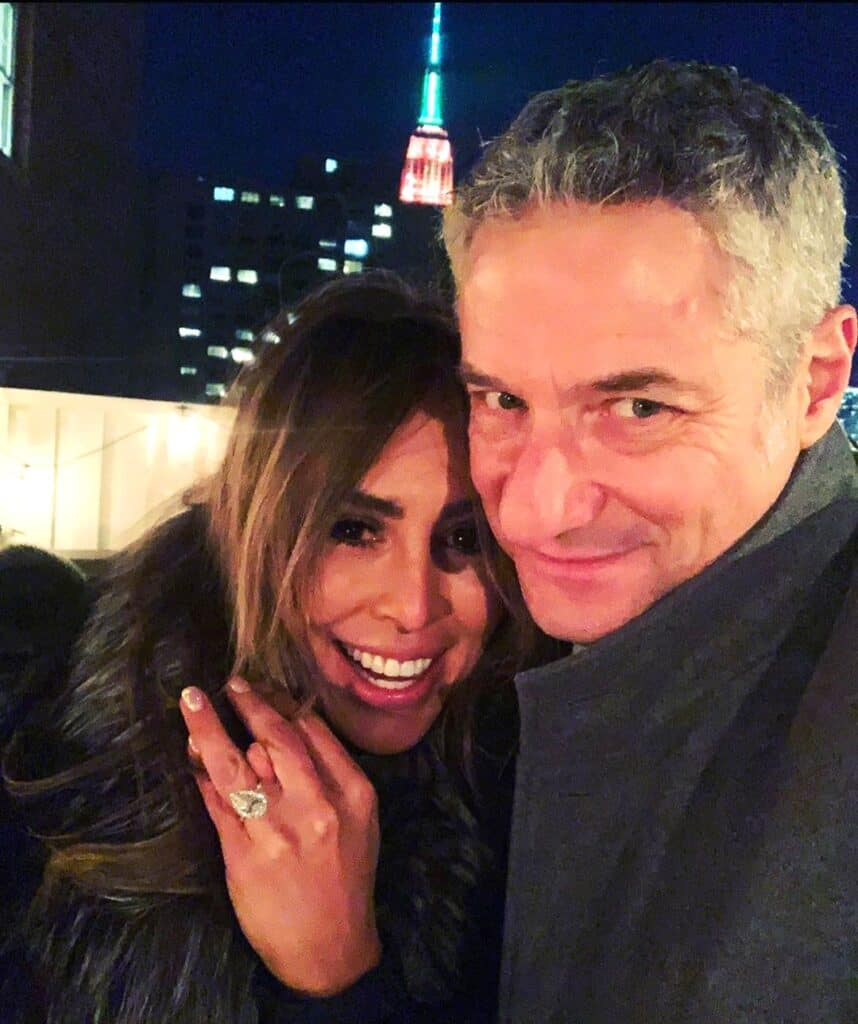 "REPORT: RHOC's Kelly Dodd is ""Disappointed"" After She and Fiancé Rick Leventhal Put Their Plans for an October Wedding on Hold"