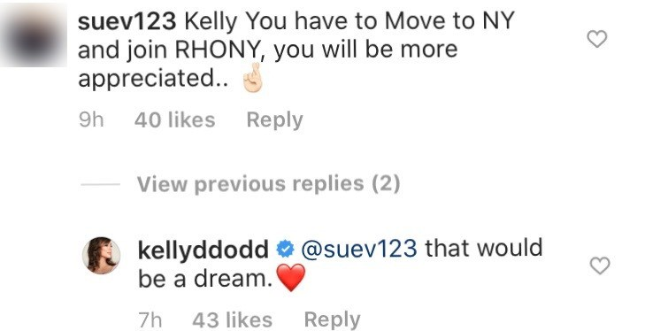 Kelly Dodd wants to leave RHOC and join RHONY