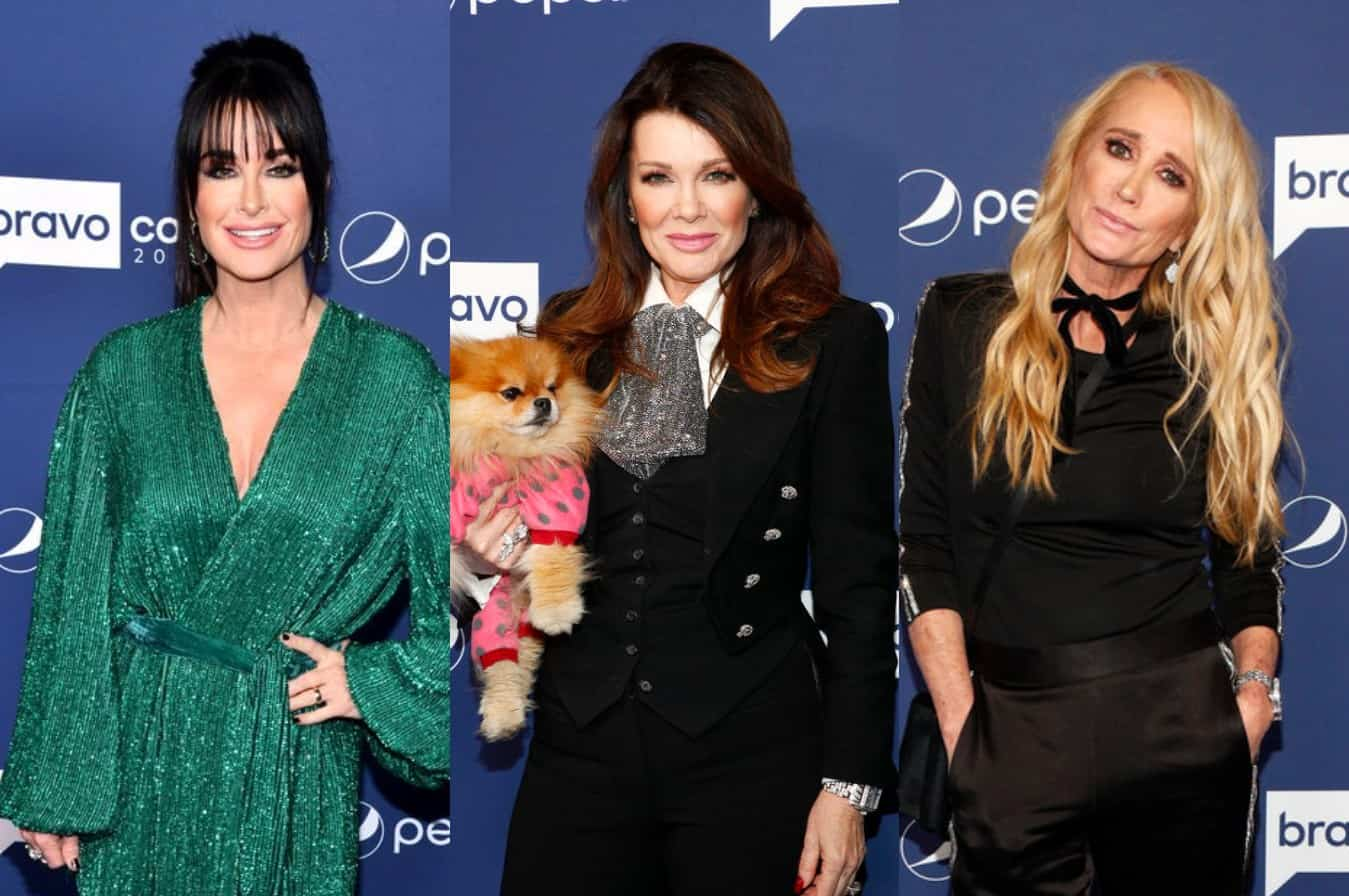 Is Kyle Richards 'Unhappy' Over Lisa Vanderpump's Friendship With Sister Kim Richards? Plus Kyle Insists No One on RHOBH Should Be Called a 'Queen'
