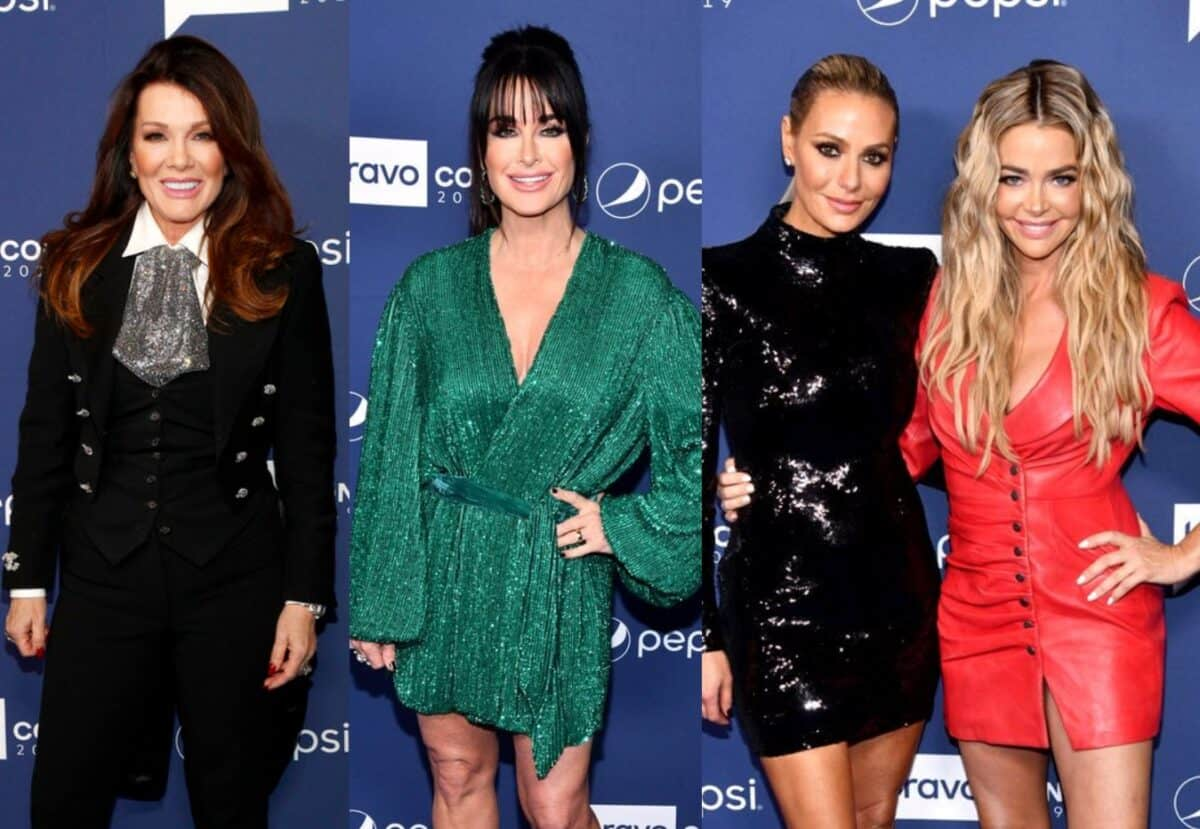 Lisa Vanderpump Avoids Former RHOBH Costars at WWHL BravoCon Taping, See PHOTOS as Ramona Singer and Vicki Gunvalson Feuded, and Live Discussion Thread for BravoCon's WWHL!