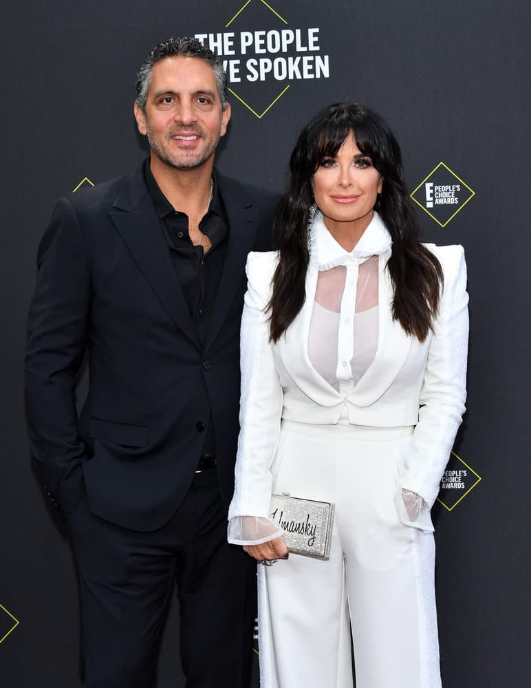 Mauricio Umansky and Kyle Richards Attend the E Peoples Choice Awards