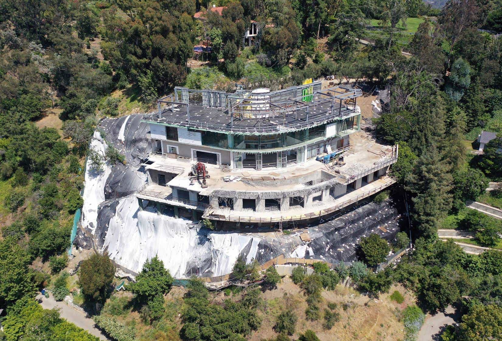 Mohamed Hadid Bel-Air Mansion Ordered to be Demolished