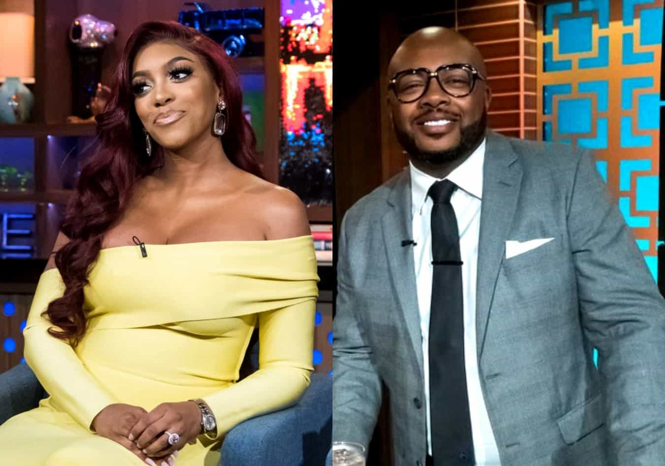 PHOTO: RHOA Star Porsha Williams' Fiancé Dennis McKinley Seen Hanging Out With Four Women at 4am Without Porsha in Sight