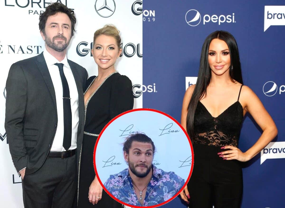Vanderpump Rules' Stassi Schroeder and Beau Clark React to Scheana Marie's New Boyfriend Brock Davies