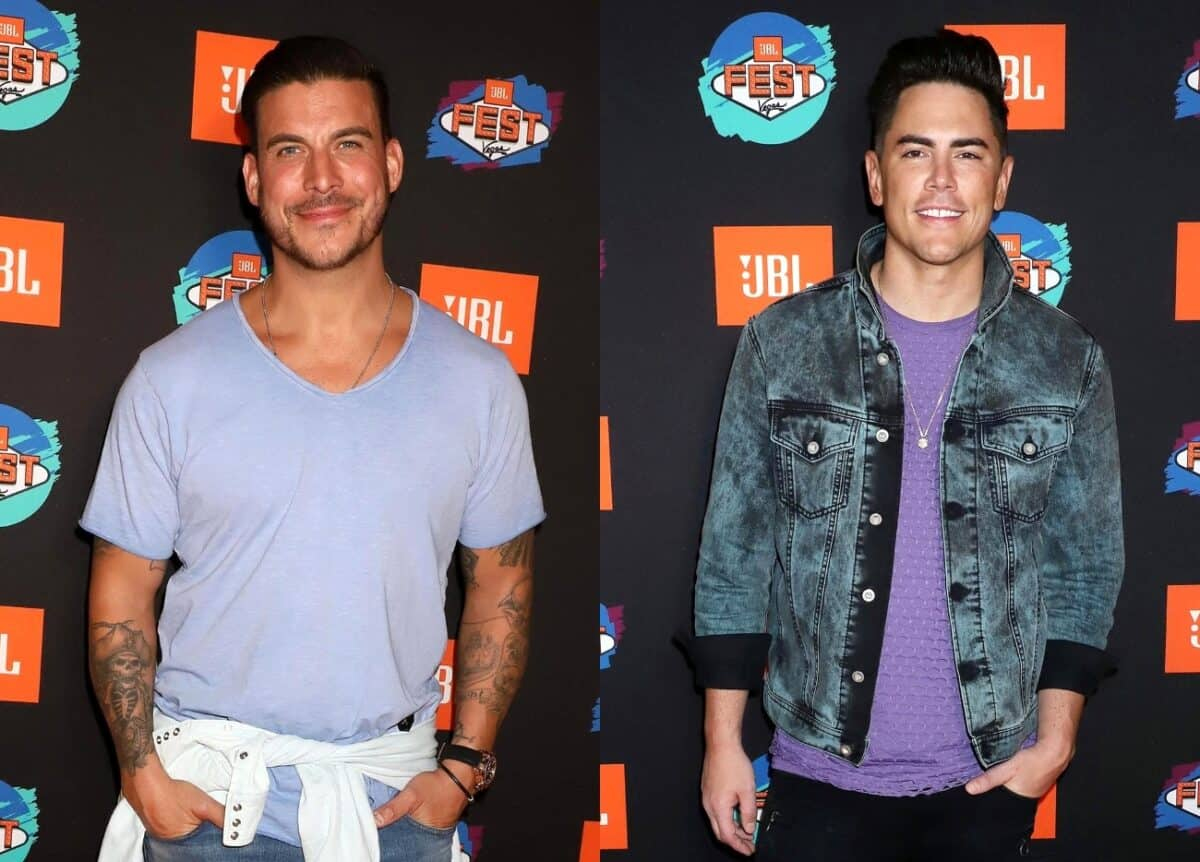 Vanderpump Rules' Jax Taylor Confirms Bachelor Party Feud With Tom Sandoval