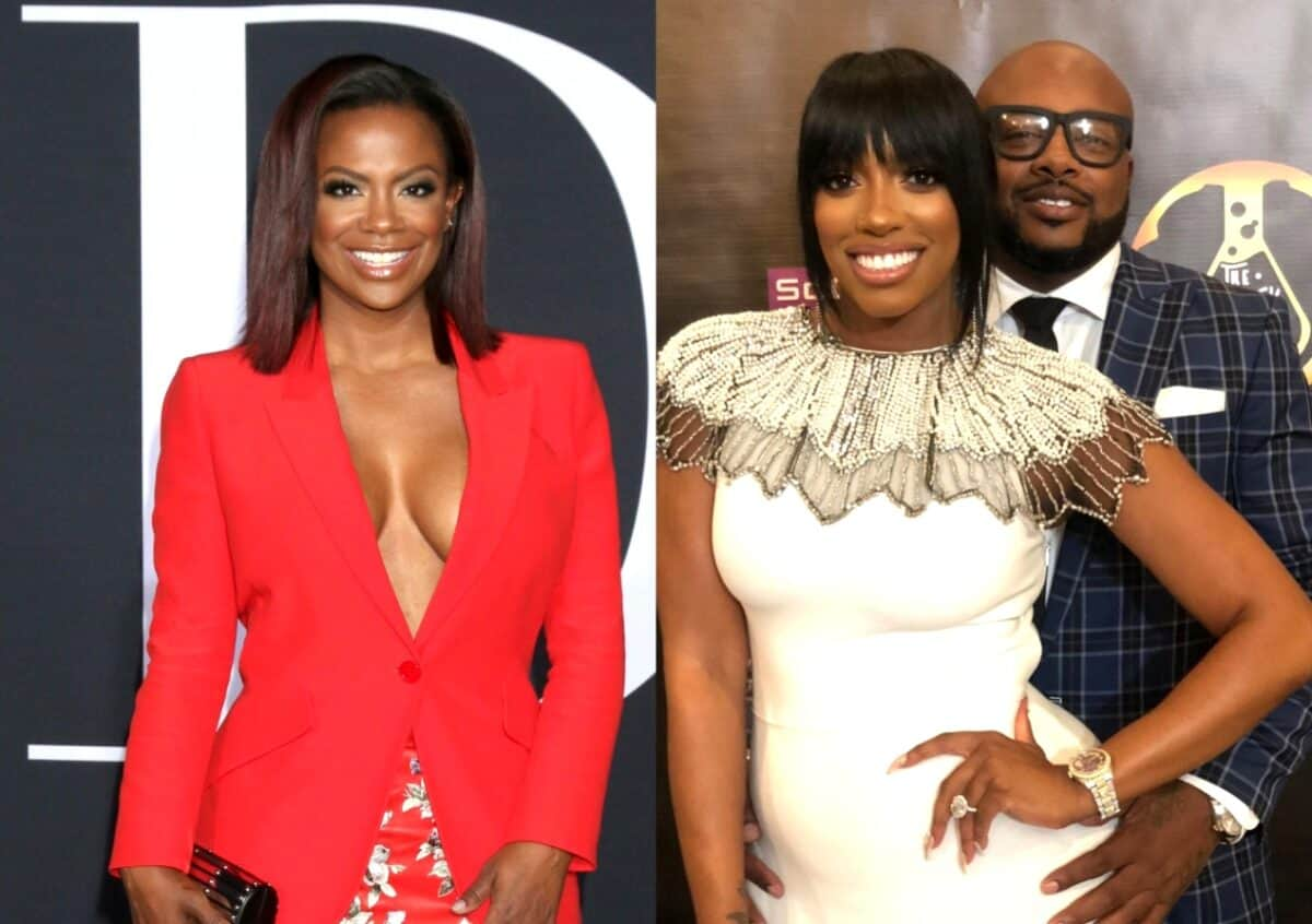 RHOA's Kandi Burruss Reacts to Porsha Williams and Dennis McKinley Getting Back Together