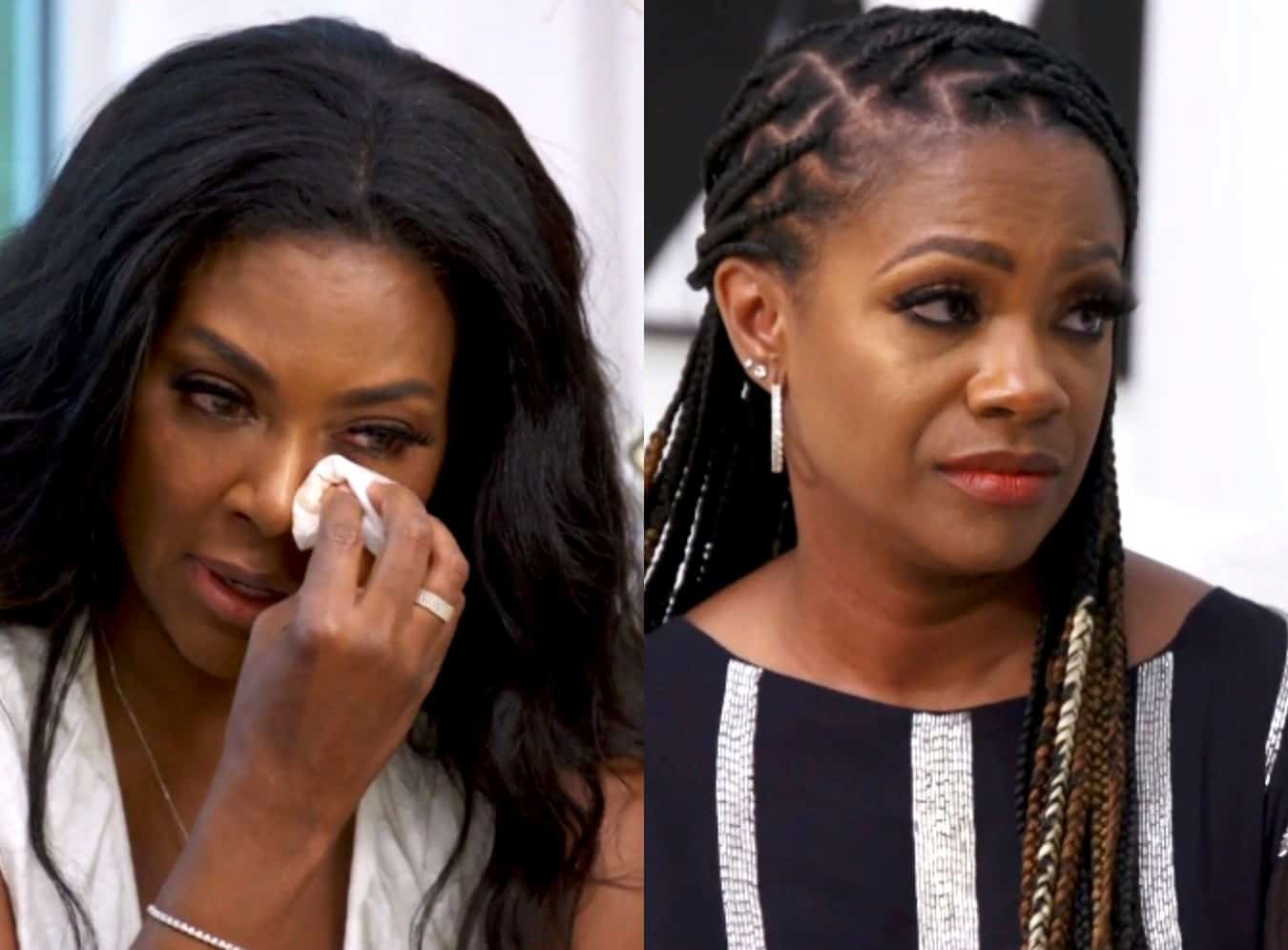 RHOA Recap: Kenya Cries as She Opens Up About Her Marriage Struggles to Kandi
