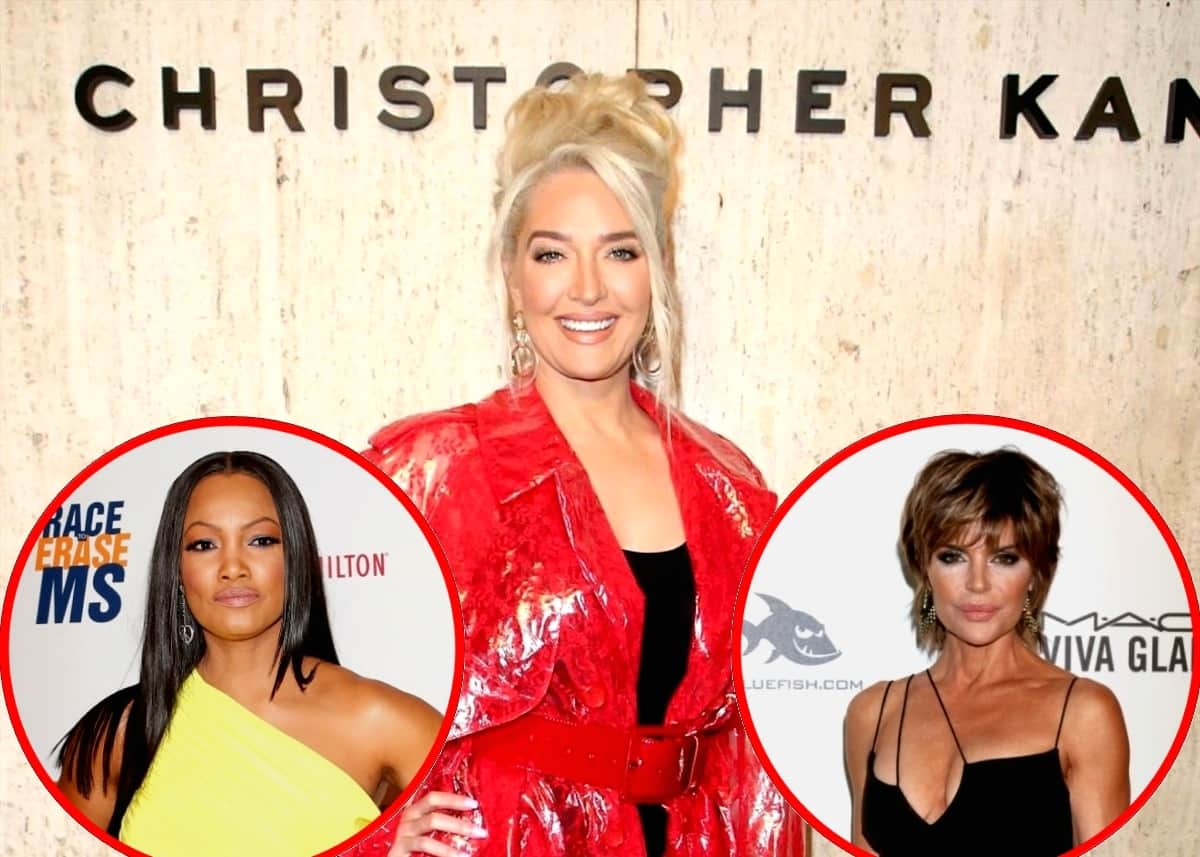 RHOBH's Erika Jayne Responds to Reports of Lackluster New Season, Shares Thoughts on Garcelle Joining Show and Advice Lisa Rinna Gave Her About Broadway Role