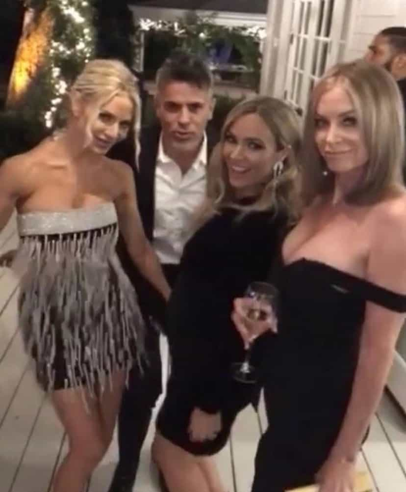 RHOBH Cast Films Season 10 With Eileen Davidson