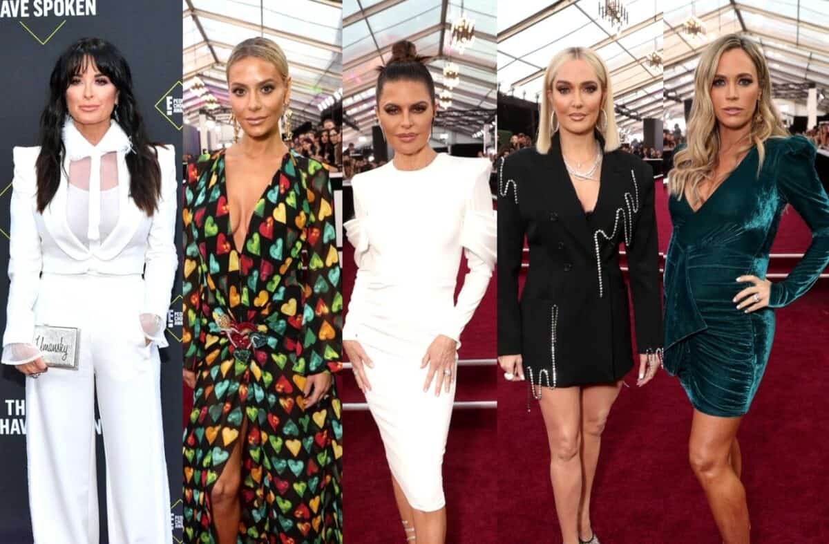 PHOTOS: See the RHOBH Cast at the 2019 E! People's Choice Awards and Find Out If They Won for Best Reality Show