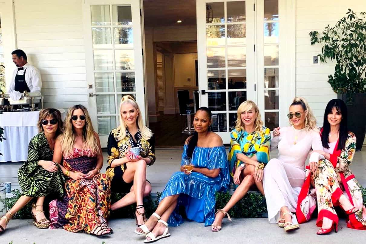 PHOTO: RHOBH Cast Poses For Group Picture Without Denise Richards, Here's Why She Was Missing From Pic